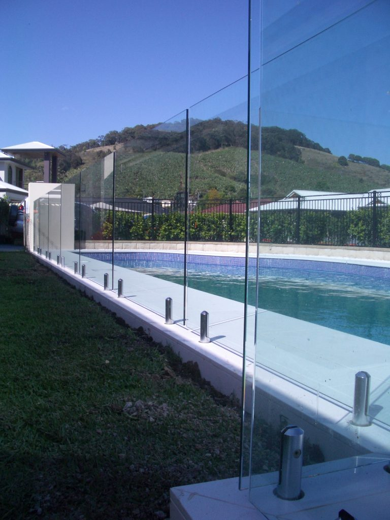 Installed Glass Balustrade or Pool Fence